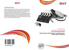 Bookcover of Jo Dong-hyuk