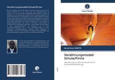 Versöhnungsmodell Schule/Firma kitap kapağı