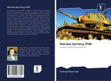 Portada del libro de Warsaw Uprising 1944