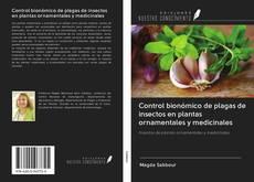Portada del libro de Control bionómico de plagas de insectos en plantas ornamentales y medicinales