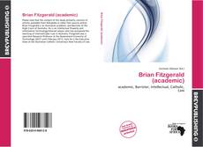 Bookcover of Brian Fitzgerald (academic)