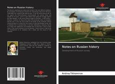Couverture de Notes on Russian history