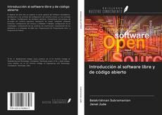 Portada del libro de Introducción al software libre y de código abierto