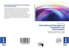 Buchcover von International Federation of Computer Law Associations