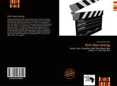 Bookcover of Kim Hye-seong