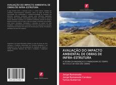 Portada del libro de AVALIAÇÃO DO IMPACTO AMBIENTAL DE OBRAS DE INFRA-ESTRUTURA