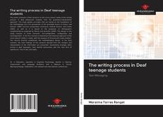 Capa do livro de The writing process in Deaf teenage students
