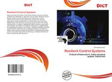 Bookcover of Resilient Control Systems