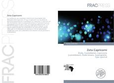 Bookcover of Zeta Capricorni