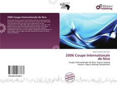 Buchcover von 2006 Coupe Internationale de Nice