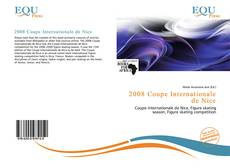 Bookcover of 2008 Coupe Internationale de Nice