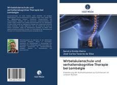Buchcover von Wirbelsäulenschule und verhaltenskognitive Therapie bei Lombalgie