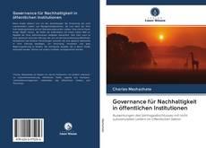 Governance für Nachhaltigkeit in öffentlichen Institutionen的封面