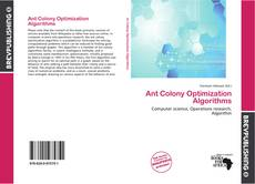 Bookcover of Ant Colony Optimization Algorithms