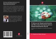 Capa do livro de Práticas de Desenvolvimento de Recursos Humanos para o Desenvolvimento Rural