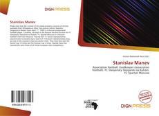 Capa do livro de Stanislav Manev