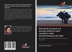 Bookcover of Domanda di acqua e di energia elettrica nella raccolta e nella movimentazione del latte