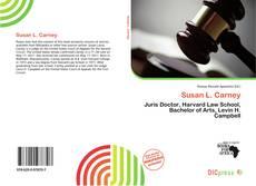 Bookcover of Susan L. Carney