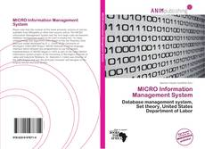 Bookcover of MICRO Information Management System