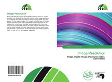 Bookcover of Image Resolution