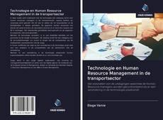 Capa do livro de Technologie en Human Resource Management in de transportsector