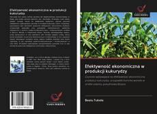 Copertina di Efektywność ekonomiczna w produkcji kukurydzy