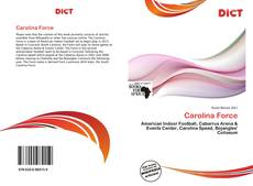 Buchcover von Carolina Force