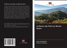 Le Barec des Piani du Monte Avaro kitap kapa??