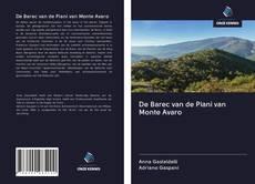 Portada del libro de De Barec van de Piani van Monte Avaro