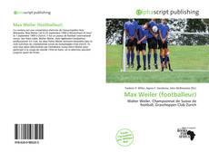 Bookcover of Max Weiler (footballeur)