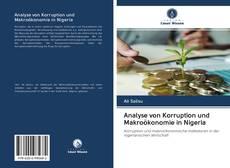 Bookcover of Analyse von Korruption und Makroökonomie in Nigeria