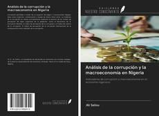 Portada del libro de Análisis de la corrupción y la macroeconomía en Nigeria