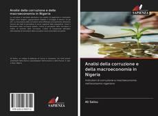 Copertina di Analisi della corruzione e della macroeconomia in Nigeria