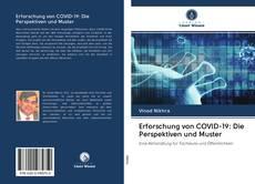Couverture de Erforschung von COVID-19: Die Perspektiven und Muster