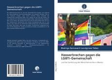 Capa do livro de Hassverbrechen gegen die LGBTI-Gemeinschaft