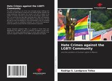 Bookcover of Hate Crimes against the LGBTI Community