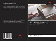 Bookcover of Miscellaneous notations