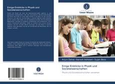 Buchcover von Einige Einblicke in Physik und Sozialwissenschaften