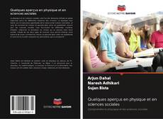 Capa do livro de Quelques aperçus en physique et en sciences sociales
