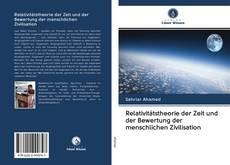 Couverture de Relativitätstheorie der Zeit und der Bewertung der menschlichen Zivilisation