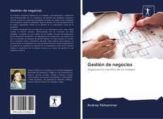 Bookcover of Gestión de negocios