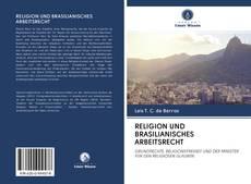 Portada del libro de RELIGION UND BRASILIANISCHES ARBEITSRECHT
