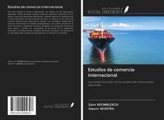 Portada del libro de Estudios de comercio internacional