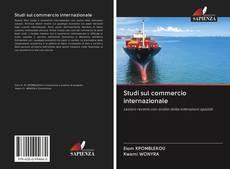 Copertina di Studi sul commercio internazionale