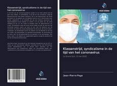 Bookcover of Klassenstrijd, syndicalisme in de tijd van het coronavirus