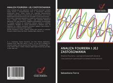 Bookcover of ANALIZA FOURIERA I JEJ ZASTOSOWANIA