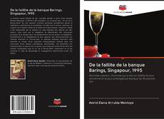 De la faillite de la banque Barings, Singapour, 1995 kitap kapağı