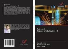 Copertina di Podręcznik Proces produkcyjny - II