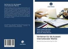 Bookcover of Verfahren für die Auswahl internationaler Märkte