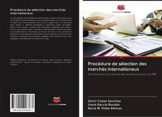 Procédure de sélection des marchés internationaux的封面